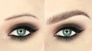 Crazy New Brow Hack   Eyebrow Routine