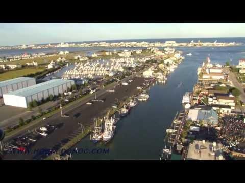 Ocean City Commercial Fishing Harbor