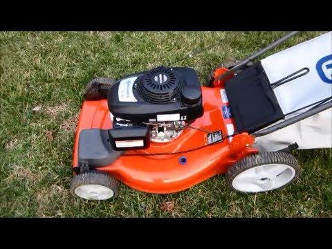 Husqvarna Lawn Mower Model HU700F Honda Engine - Final Look & Startup - March 5, 2014 - YouTube