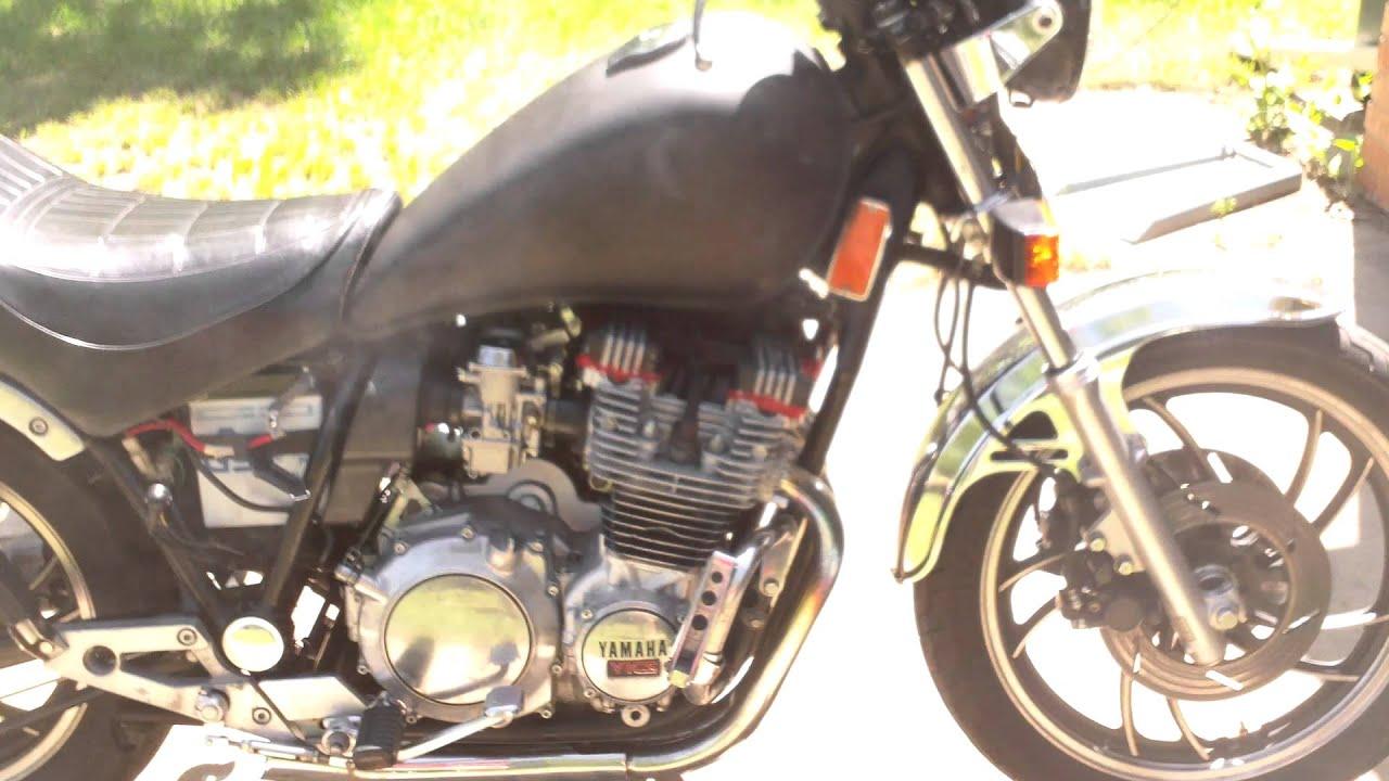 82 Yamaha XJ750 Start and Rev XJ 750 Maxim - YouTube