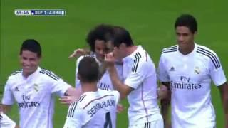 Deportivo La Coruna 2-8 Real Madrid La Liga 2014-15 HD