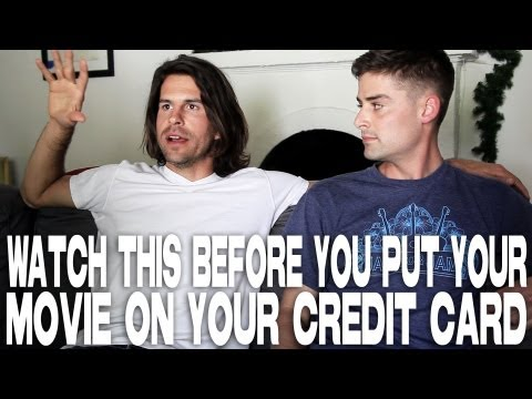 Watch This Before You Put Your Movie On Your Credit Card by Andy Gillies & Joe Haas