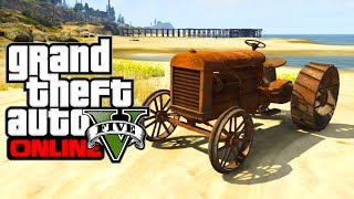 "GTA 5 Online: Secret Cars ""Rusty Tractor"" (GTA V)"