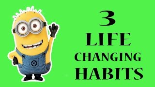 3 Life Changing Habits (Hindi) | Robin Sharma | Animated