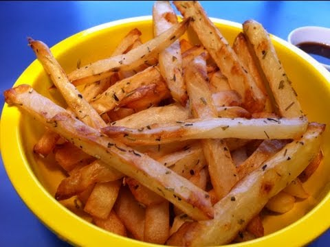 HOMEMADE FRENCH FRIES: Oven baked and deep fried