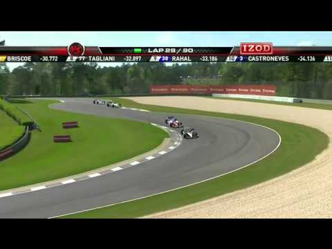 Part 7 of 15 - Indycar 2011 Round 2 Barber race