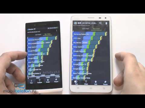 Oppo Find 5 vs BBK Vivo Xplay: сравнение-обзор (review and comparison)