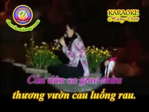Karaoke TC - Dem giao thua nghe mot khuc dan ca - HD.avi