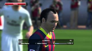 Pro Evolution Soccer 2014 (PES 2014) Barcelona And Real