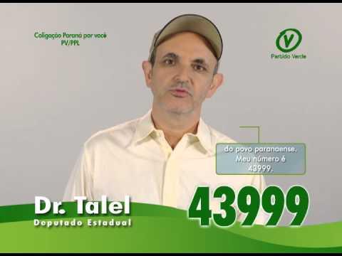 Dr Talel 43999  - Deputado estadual - TV