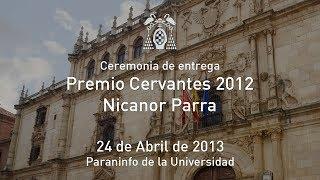 Ceremonia de entrega del Premio Cervantes. Universidad de Alcalá