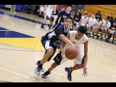 DVHS JV Men's Basketball 58 vs. Alhambra HS 43 - 01-08-2016