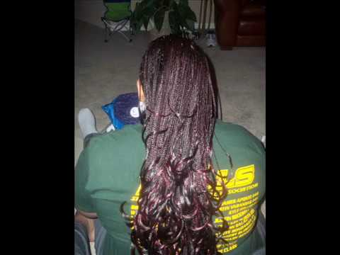 Crochet Braids No Latch Hook : CROCHET/ LATCH HOOK BRAIDS - YouTube