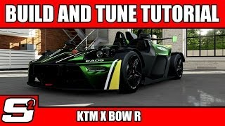 Forza 5 Build And Tuning Tutorial KTM X-BOW R A Class