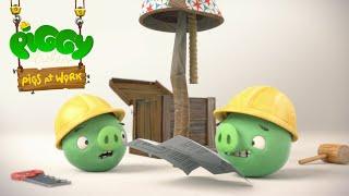 Piggy Tales - Prasatá v práci - Krok 1