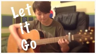 Let It Go Frozen Disney Movie Soundtrack Fingerstyle