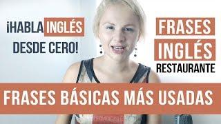 Frases Básicas Restaurante 17 Frases En Inglés English