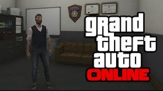 GTA 5 Online: How To Get Inside The POLICE STATION! (GTA V