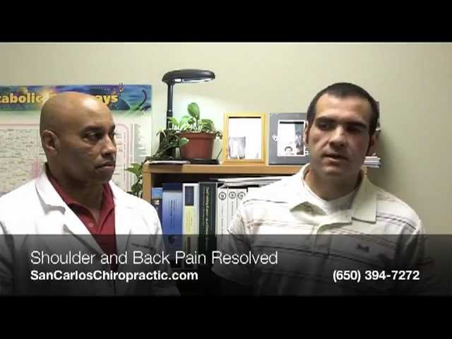 Family Chiropractic San Carlos CA | (650) 394-7272 | Shoulder/Back Pain Resolved