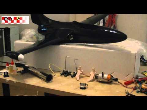 Building an AeroNaut Panther F9F with Kolibri Turbine - Intro