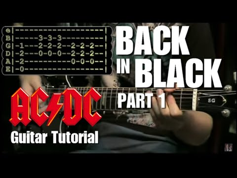 Back in Black - (AC/DC) Lesson part 1