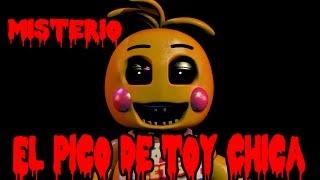 El Misterio Del Pico De Toy Chica Five Nights At Freddy