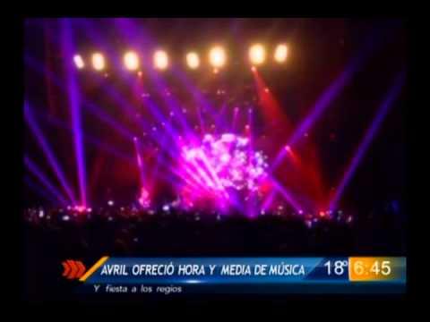 Las Noticias - Exitoso regreso de Avril Lavigne a Monterrey