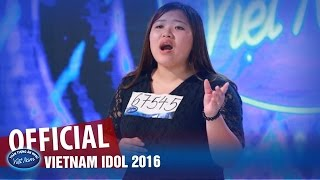 VIETNAM IDOL 2016 - TẬP 2 - TÀU ANH QUA NÚI - THU HÀ