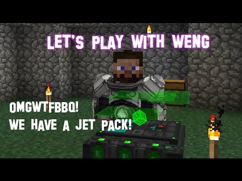 MineCraft | CrackPack | E15 | Powered Flight!