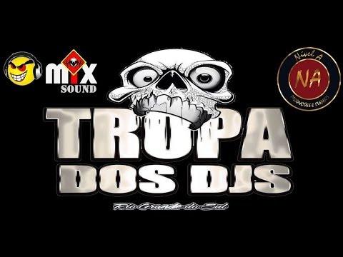 Montagem da Tropa Dos Dj's Vol.1 AO VIVO Dj Lucas Guimarães Equipe Mix Sound