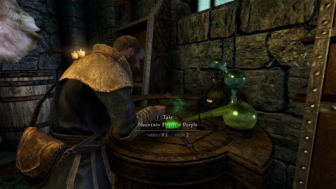 how to make potions on skyrim