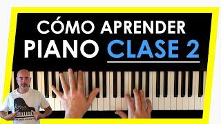 Aprender a tocar el piano. Clase 2