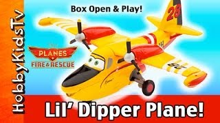 NEW Disney Planes Fire Rescue Lil' DIPPER! Play With