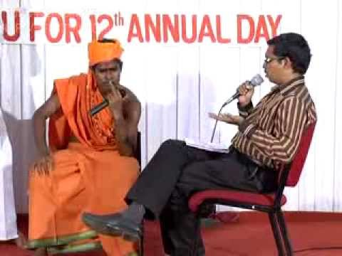 Tamil comedy script drama Nithyananda