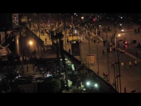 مواجهات بميدان التحرير