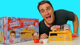 Dubble Bubble Bubble Gum Factory ! || Toy Review || Konas2002