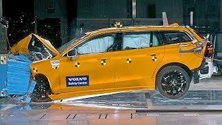 Volvo V60 (2019) CRASH TEST. YouCar Car Reviews.