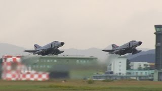 F-4 Phantom Formation TakeOff 2014