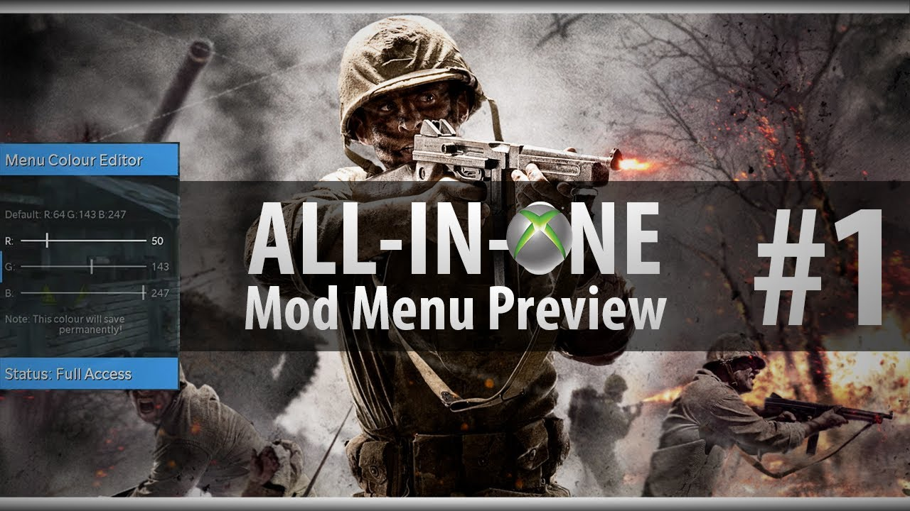 cod waw mod menu download xbox 360