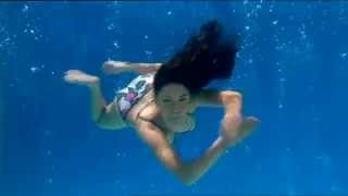 Sexy Bikini Girls Swimming Underwater Part.2 Great, Having