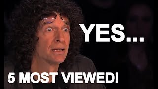 5 MOST VIEWED AMERICA'S GOT TALENT AUDITIONS!