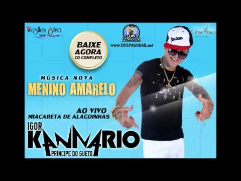 IGOR KANNÁRIO Musica Nova MENINO AMARELO 2014 • LUISPAGODAO NET