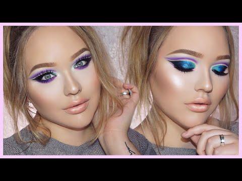 zendaya edgy double cutcrease makeup tutorial