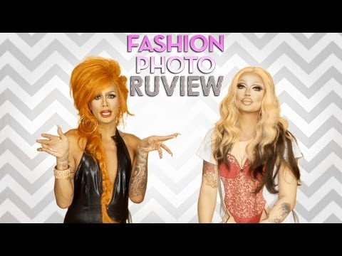 RuPaul's Drag Race Fashion Photo RuView with Raja and Raven - Episode 1
