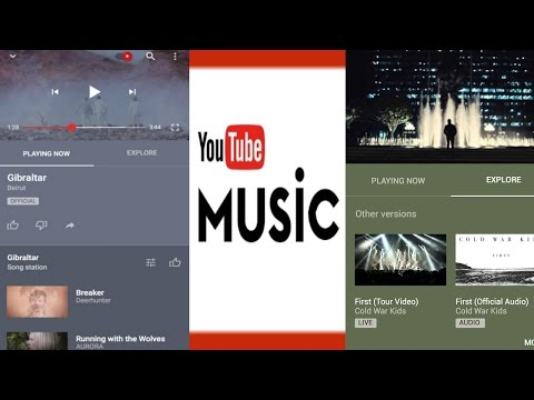 Youtube Music App launched for iOS and Android in U.S
