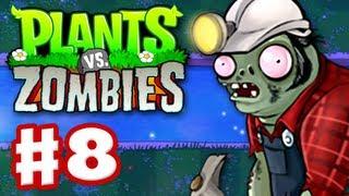Plants Vs. Zombies Gameplay Walkthrough Part 8 World 4