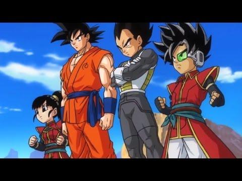 Dragon Ball Heroes - Fukkatsu No F & Super Saiyan 4 Movie Cutscenes