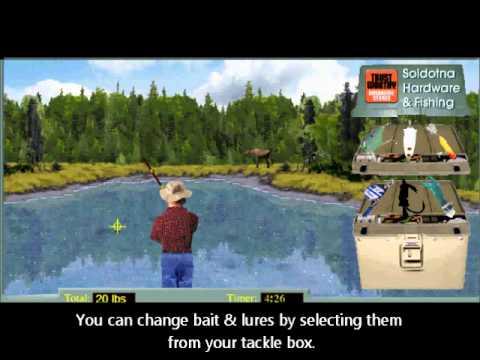Kenai river run fishing game youtube for River fishing games