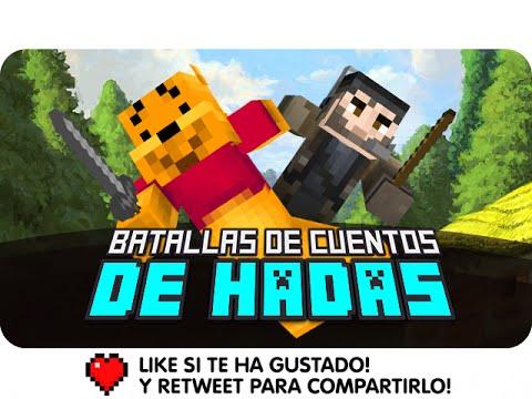 BATALLAS DE CUENTOS DE HADAS!   Minecraft