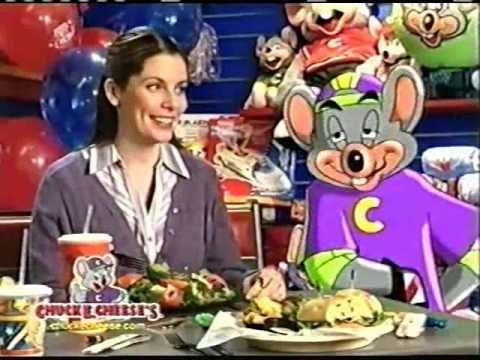 chuck e cheese commercial
